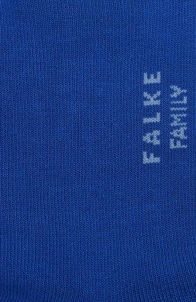 Детские хлопковые носки FALKE синего цвета, арт. 10631 | Фото 2