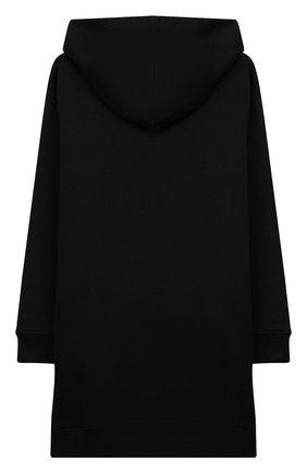 Хлопковое платье с капюшоном   Фото №2