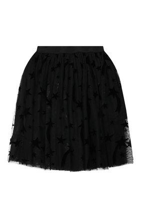 Детская юбка STELLA MCCARTNEY черного цвета, арт. 566543/SNK22 | Фото 2