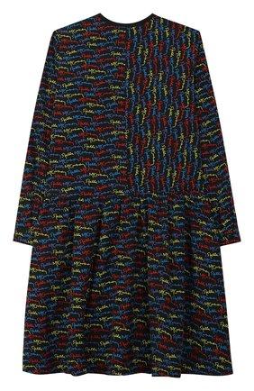 Детское платье STELLA MCCARTNEY черного цвета, арт. 566843/SNK35 | Фото 2