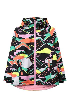 Детская куртка с капюшоном STELLA MCCARTNEY разноцветного цвета, арт. 571491/SNK80 | Фото 1