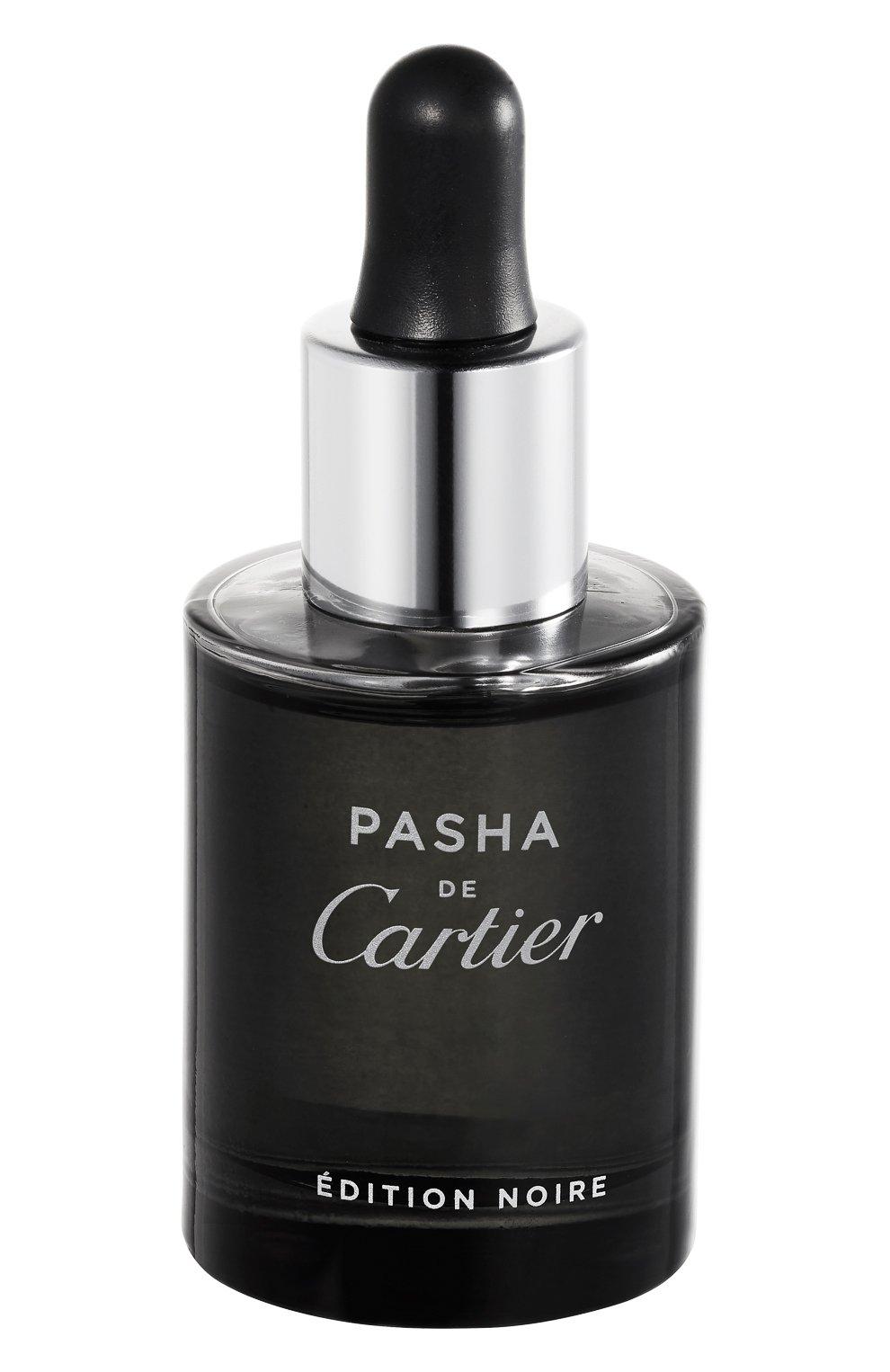 Мужская масло для бороды pasha de cartier edition noire CARTIER бесцветного цвета, арт. 65030003 | Фото 1