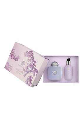 Женский набор lilac love gift set AMOUAGE бесцветного цвета, арт. 12952 | Фото 1