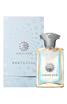 Мужской парфюмерная вода portrayal AMOUAGE бесцветного цвета, арт. 33094 | Фото 2