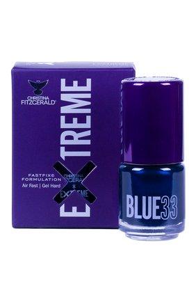 Женский лак для ногтей extreme, оттенок blue 33 CHRISTINA FITZGERALD бесцветного цвета, арт. 9333381005229 | Фото 1