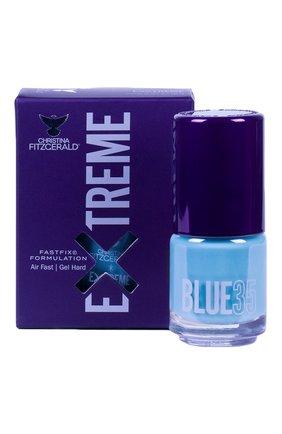 Женский лак для ногтей extreme, оттенок blue 35 CHRISTINA FITZGERALD бесцветного цвета, арт. 9333381005243 | Фото 1