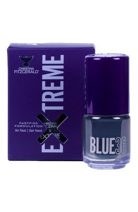 Женский лак для ногтей extreme, оттенок blue 36 CHRISTINA FITZGERALD бесцветного цвета, арт. 9333381005250 | Фото 1