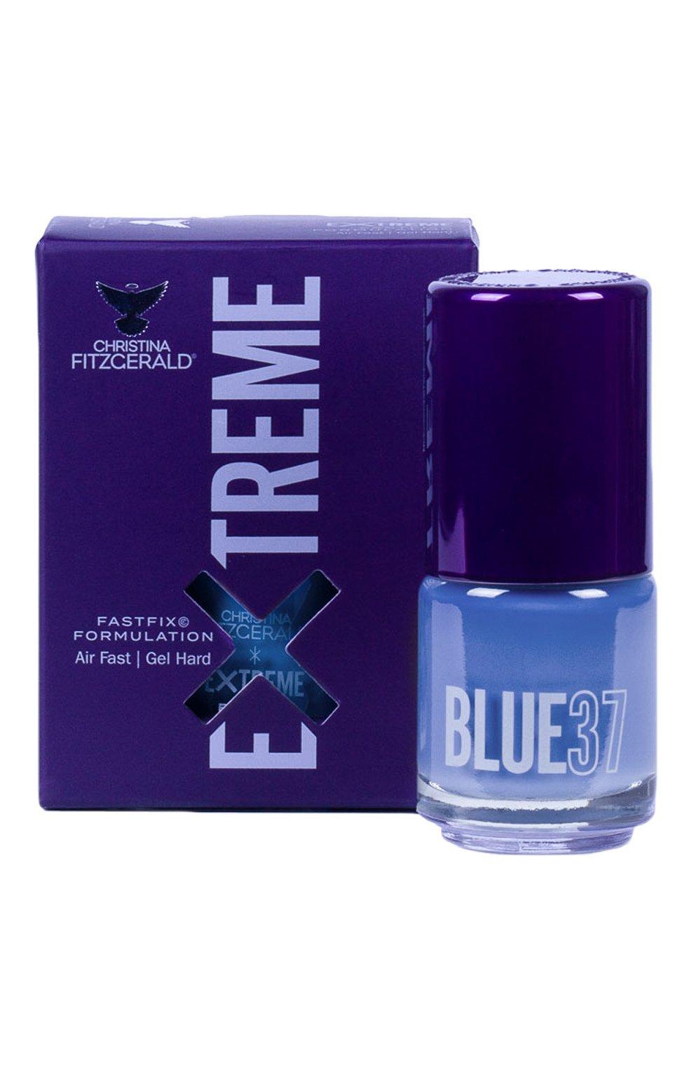 Женский лак для ногтей extreme, оттенок blue 37 CHRISTINA FITZGERALD бесцветного цвета, арт. 9333381005267 | Фото 1