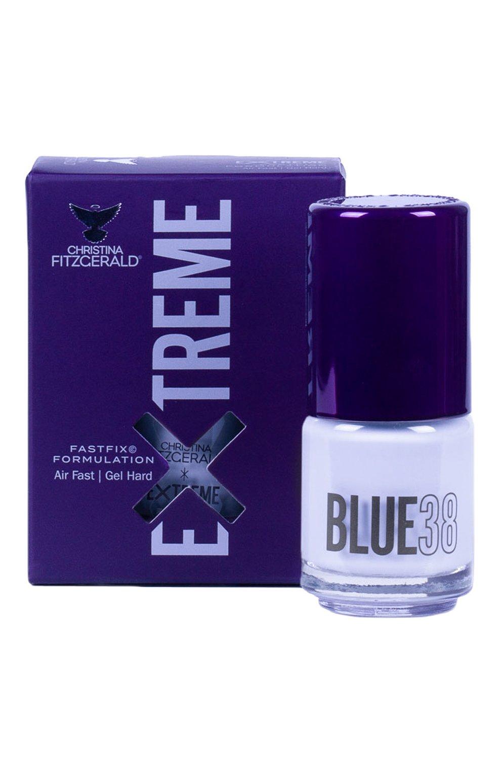 Женский лак для ногтей extreme, оттенок blue 38 CHRISTINA FITZGERALD бесцветного цвета, арт. 9333381005274 | Фото 1