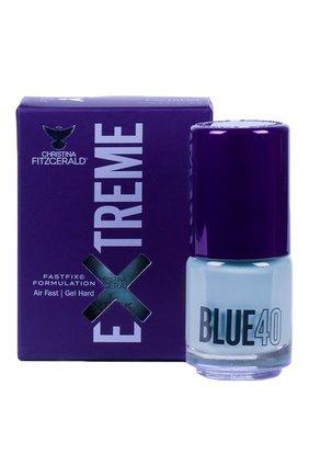 Женский лак для ногтей extreme, оттенок blue 40 CHRISTINA FITZGERALD бесцветного цвета, арт. 9333381005298 | Фото 1