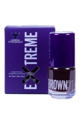 Женский лак для ногтей extreme, оттенок brown 31 CHRISTINA FITZGERALD бесцветного цвета, арт. 9333381005205 | Фото 1