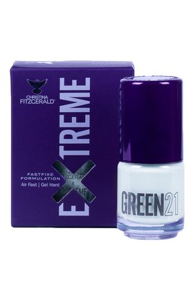 Женский лак для ногтей extreme, оттенок green 21 CHRISTINA FITZGERALD бесцветного цвета, арт. 9333381005106 | Фото 1