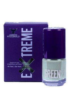 Женский лак для ногтей extreme, оттенок green 23 CHRISTINA FITZGERALD бесцветного цвета, арт. 9333381005120 | Фото 1
