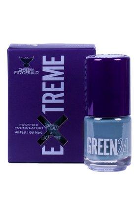 Лак для ногтей Extreme, оттенок Green 24 | Фото №1