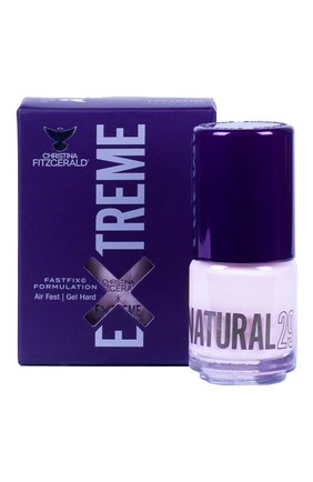 Женский лак для ногтей extreme, оттенок natural 29 CHRISTINA FITZGERALD бесцветного цвета, арт. 9333381005182 | Фото 1
