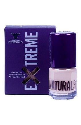 Женский лак для ногтей extreme, оттенок natural 30 CHRISTINA FITZGERALD бесцветного цвета, арт. 9333381005199 | Фото 1