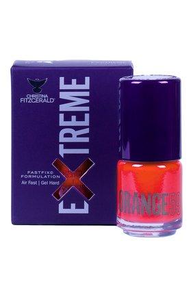 Женский лак для ногтей extreme, оттенок orange 59 CHRISTINA FITZGERALD бесцветного цвета, арт. 9333381005489 | Фото 1