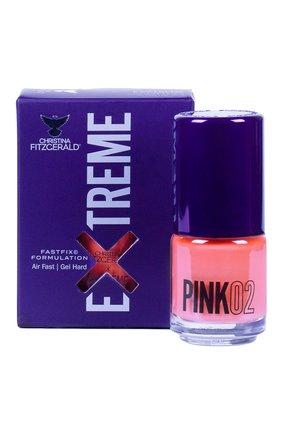 Лак для ногтей Extreme, оттенок Pink 02 | Фото №1