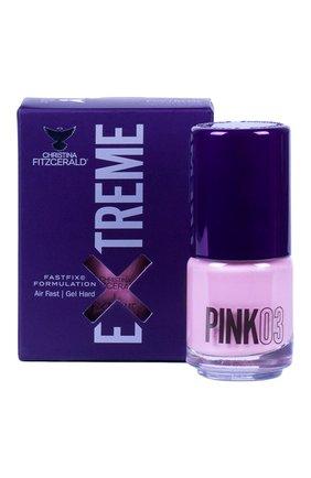 Женский лак для ногтей extreme, оттенок pink 03 CHRISTINA FITZGERALD бесцветного цвета, арт. 9333381004925 | Фото 1