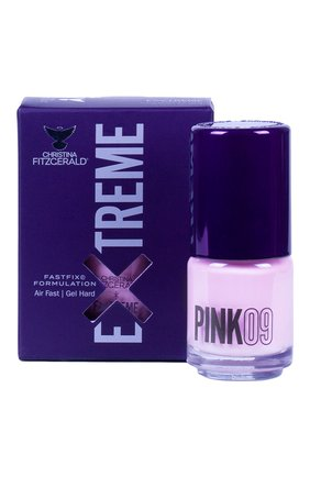 Женский лак для ногтей extreme, оттенок pink 09 CHRISTINA FITZGERALD бесцветного цвета, арт. 9333381004987 | Фото 1