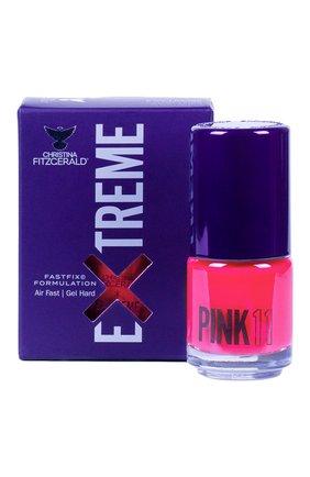 Женский лак для ногтей extreme, оттенок pink 11 CHRISTINA FITZGERALD бесцветного цвета, арт. 9333381005007 | Фото 1
