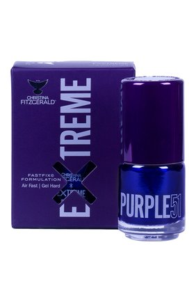 Лак для ногтей Extreme, оттенок Purple 51 | Фото №1