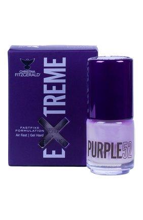 Женский лак для ногтей extreme, оттенок purple 52 CHRISTINA FITZGERALD бесцветного цвета, арт. 9333381005410 | Фото 1