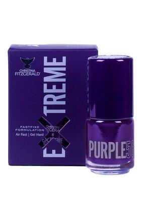 Женский лак для ногтей extreme, оттенок purple 56 CHRISTINA FITZGERALD бесцветного цвета, арт. 9333381005458 | Фото 1