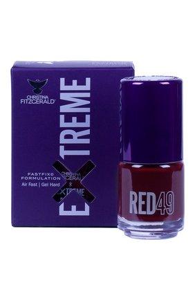 Женский лак для ногтей extreme, оттенок red 49 CHRISTINA FITZGERALD бесцветного цвета, арт. 9333381005380 | Фото 1