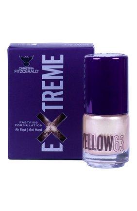 Женский лак для ногтей extreme, оттенок yellow 63 CHRISTINA FITZGERALD бесцветного цвета, арт. 9333381005526 | Фото 1