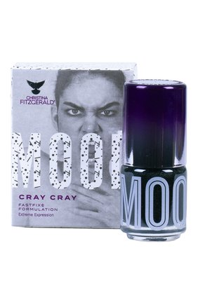 Женский лак для ногтей mood, оттенок cray cray CHRISTINA FITZGERALD бесцветного цвета, арт. 9333381004680 | Фото 2