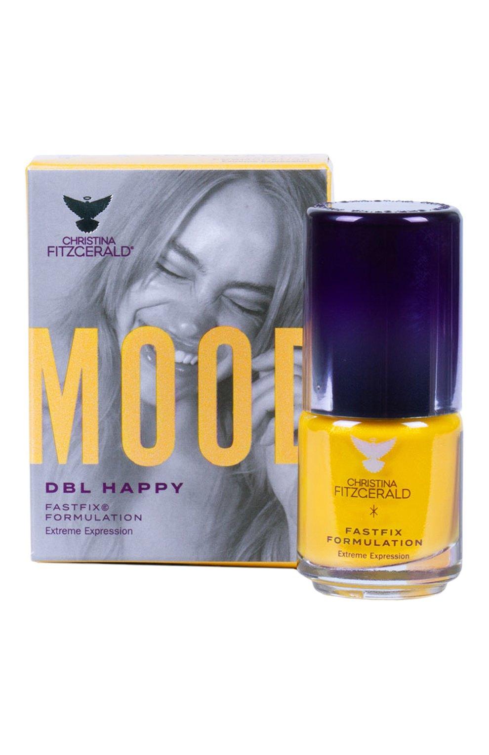 Женский лак для ногтей mood, оттенок dbl happy CHRISTINA FITZGERALD бесцветного цвета, арт. 9333381004642 | Фото 1