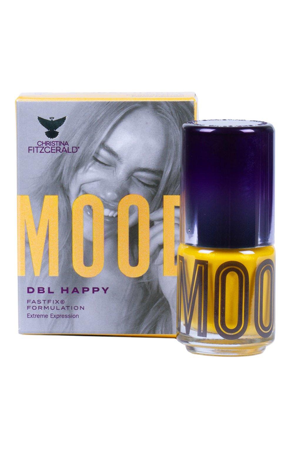 Женский лак для ногтей mood, оттенок dbl happy CHRISTINA FITZGERALD бесцветного цвета, арт. 9333381004642 | Фото 2