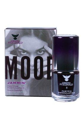 Женский лак для ногтей mood, оттенок jammin' CHRISTINA FITZGERALD бесцветного цвета, арт. 9333381004703 | Фото 1