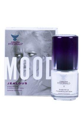 Женский лак для ногтей mood, оттенок jealous CHRISTINA FITZGERALD бесцветного цвета, арт. 9333381004673 | Фото 1