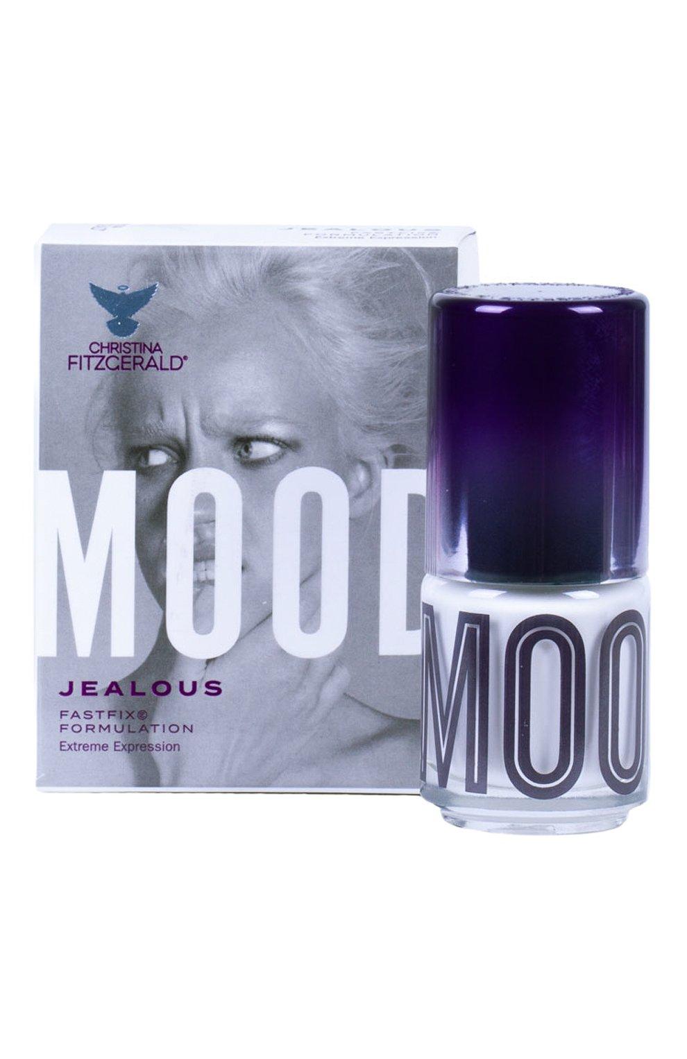 Женский лак для ногтей mood, оттенок jealous CHRISTINA FITZGERALD бесцветного цвета, арт. 9333381004673   Фото 2