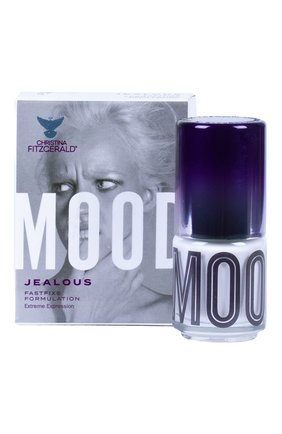 Женский лак для ногтей mood, оттенок jealous CHRISTINA FITZGERALD бесцветного цвета, арт. 9333381004673 | Фото 2
