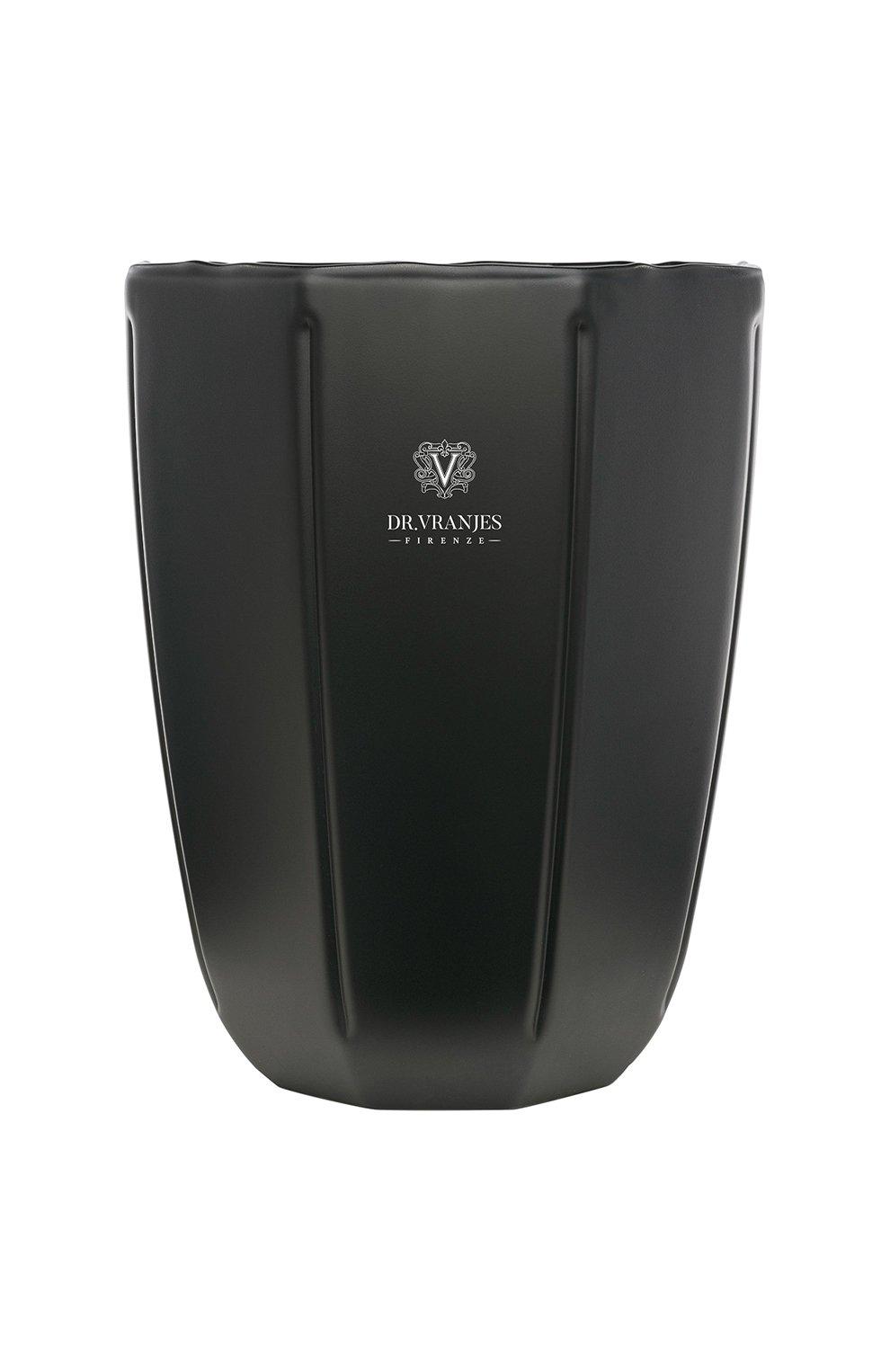 Мужского ароматическая свеча ambra matt onyx DR. VRANJES FIRENZE бесцветного цвета, арт. CND12NO55 | Фото 1