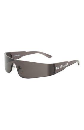 Мужские солнцезащитные очки BALENCIAGA черного цвета, арт. 570521/T0022 | Фото 1