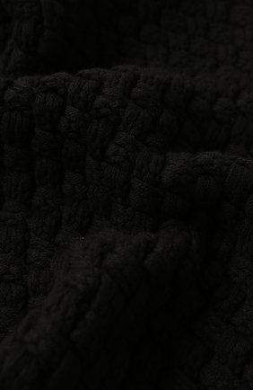 Мужские кашемировый шарф DOLCE & GABBANA черного цвета, арт. FX545T/JAWQR | Фото 2