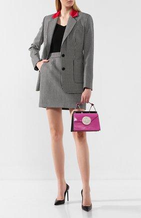 Женская сумка phoebe bis DANSE LENTE фуксия цвета, арт. PH0EBE BIS/0RCHID | Фото 2