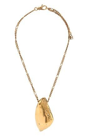 Женское колье rock BALENCIAGA золотого цвета, арт. 578182/TZ25Z | Фото 1