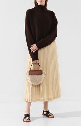 Женская сумка hortensia mini WANDLER бежевого цвета, арт. H0RTENSIA BAG MINI W00L | Фото 2