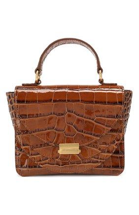 Женская сумка luna mini WANDLER коричневого цвета, арт. LUNA MINI CR0C0 | Фото 1