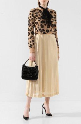 Женская сумка tali medium KENZO черного цвета, арт. F962SA201L05 | Фото 2