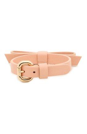 Женский кожаный браслет REDVALENTINO светло-розового цвета, арт. SQ0J0B49/MEN | Фото 2