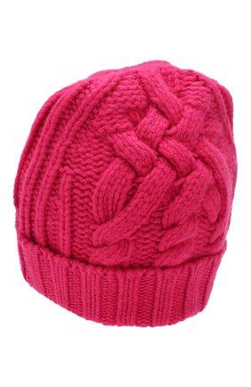 Женский шерстяная шапка OFF-WHITE фуксия цвета, арт. 0WLA008F19A280502800 | Фото 2