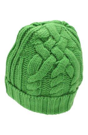 Женский шерстяная шапка OFF-WHITE зеленого цвета, арт. 0WLA008F19A280504000 | Фото 2