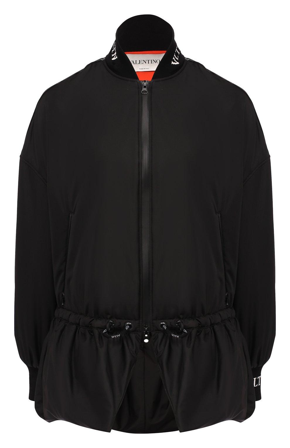 Женская куртка VALENTINO черного цвета, арт. SB3CJ01D3WE | Фото 1