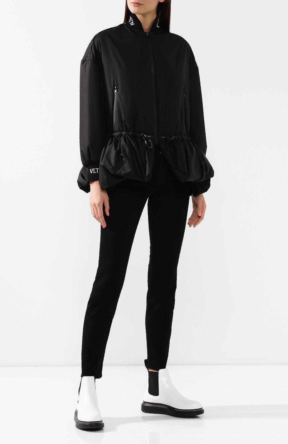 Женская куртка VALENTINO черного цвета, арт. SB3CJ01D3WE | Фото 2